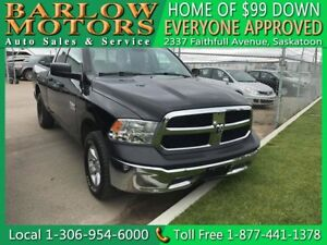 2015 Ram 1500 ST   $99 DOWN EVERYONE APPROVED!!!