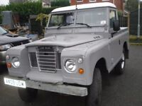 "Land rover series 88"" V8 3.5ltr"