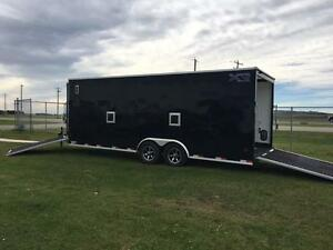 8.5ft x 26ft Royal Tri-Sport Trailer - Toy Hauler - Out The Door