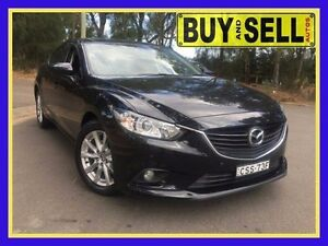 2013 Mazda 6 6C Touring Black 6 Speed Automatic Sedan Lansvale Liverpool Area Preview