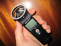Zoom H1 Portable Recorder w/ 2gb Memory card