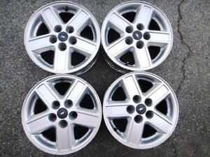 """4 used 15"""" FORD alloy rims 5x114.3"""