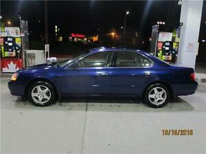 2003 ACURA TL PREMIUM ...VERY LOW KMS. LOADED TO THE MAX!