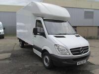 Mercedes-Benz Sprinter 313 CDi LWB 3.5T Luton Van DIESEL MANUAL WHITE (2012)
