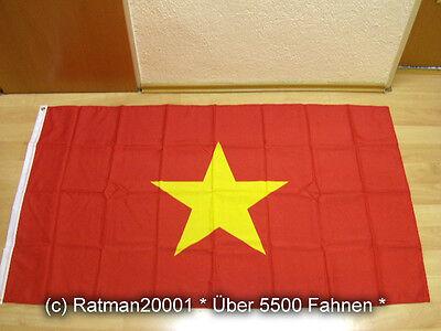 Fahnen Flagge Vietnam Sonderposten - 90 x 150 cm