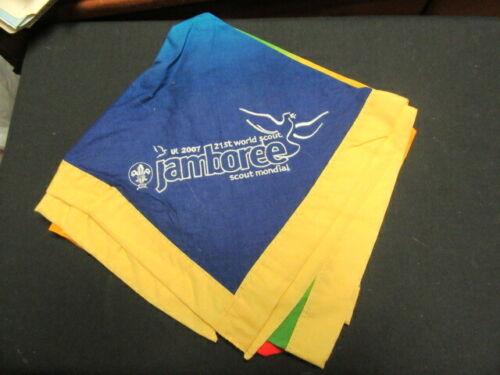 2007 World Jamboree Scarf Neckerchief, Worn    fx2