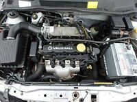 Vauxhall Astra, Meriva 1.6 8V Z16SE Engine Breaking For Parts
