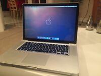 Macbook Pro 15'' - LATE 2011 - i7 - 16GB RAM - 256GB SSD
