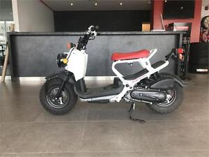 2013 HONDA RUCKUS!!$39.13 BI-WEEKLY!! LOW KMS, CERTIFIED!!