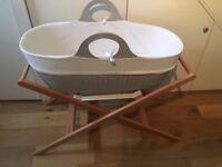 Moba Moses Basket & Stand