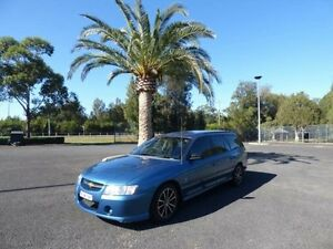 2005 Holden Commodore VZ Executive Blue 4 Speed Automatic Wagon Cabramatta Fairfield Area Preview