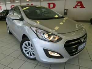 2016 Hyundai i30 GD4 Series 2 Update Active Silver 6 Speed Automatic Hatchback Osborne Park Stirling Area Preview