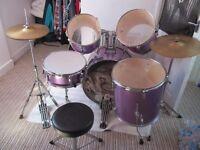 Drum kit (full size/adults)