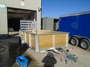 FULLY LOADED 12' HIGH SIDE ALUMINUM UTILITY - SALE PRICING!! London Ontario image 2