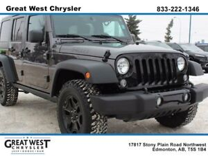 2016 Jeep Wrangler Unlimited WILLYS EDITION**TRAILER TOW GROUP**