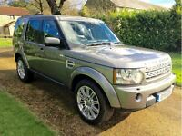 2011 LAND ROVER DISCOVERY 4 SDV6 3.0L HSE AUTO GREY