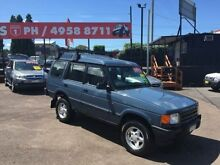 1997 Land Rover Discovery SE (4x4) Blue 4 Speed Automatic 4x4 Wagon Edgeworth Lake Macquarie Area Preview