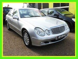 2002 Mercedes-Benz E320 W211 Elegance Silver 5 Speed Sports Automatic Sedan Minchinbury Blacktown Area Preview