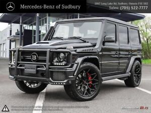 2017 MERCEDES BENZ G-CLASS G63 - BRABUS PACKAGE. THIS HEAD TURNI