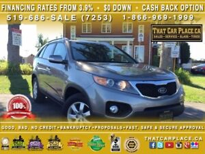 2011 Kia Sorento LX-$58/Wk-AWD-Bluetooth-HeatedSeats-Alloys-AUX/