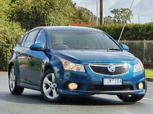 2012 Holden Cruze JH Series II MY12 SRi-V Blue 6 Speed Sports Automatic Hatchback Wodonga Wodonga Area Preview