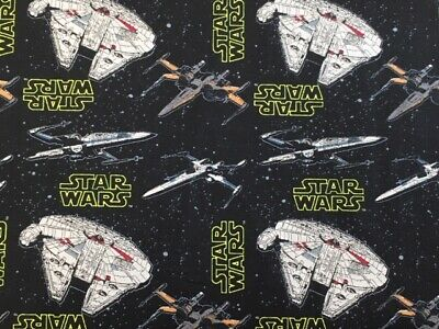 Star Wars Rebel Ships 100% Cotton Fat Quarter, Half or Whole Metre