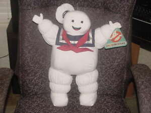 18-Stay-Puft-Marshmallow-Man-Plush-W-Tags-Ghostbusters-1984-Columbia-Pictures