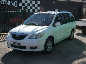 2004 Mazda MPV 04-07seris 7 seater luxury Pearl White 5 Speed Automatic Nailsworth Prospect Area Preview