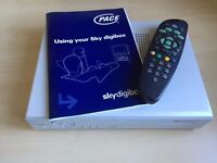Sky Digibox and Remote Control For Sale