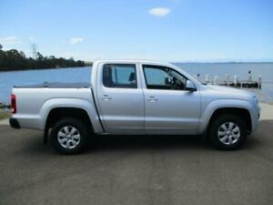 2014 Volkswagen Amarok 2H MY14 TDI420 Trendline (4x4) Silver 8 Speed Automatic Dual Cab Utility Dapto Wollongong Area Preview