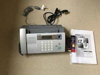 fax machine - sharp UXb30 very good condition