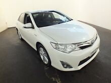 2013 Toyota Camry AVV50R Hybrid HL Crystal Pearl Continuous Variable Sedan Clemton Park Canterbury Area Preview