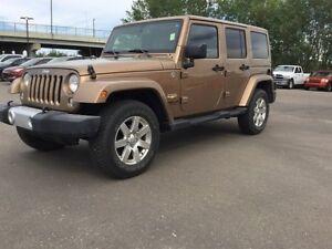 2015 Jeep Wrangler Unlimited 4WD SAHARA UNLIMITED Finance $254 b