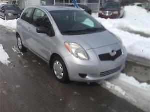 2007 Toyota Yaris CE, Safety & ETEST for ON or QC INCL.