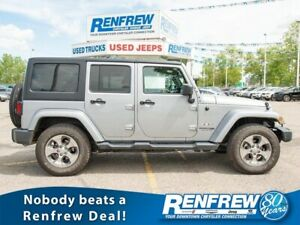 2018 Jeep Wrangler JK Unlimited Sahara 4x4, Remote Start, Heated