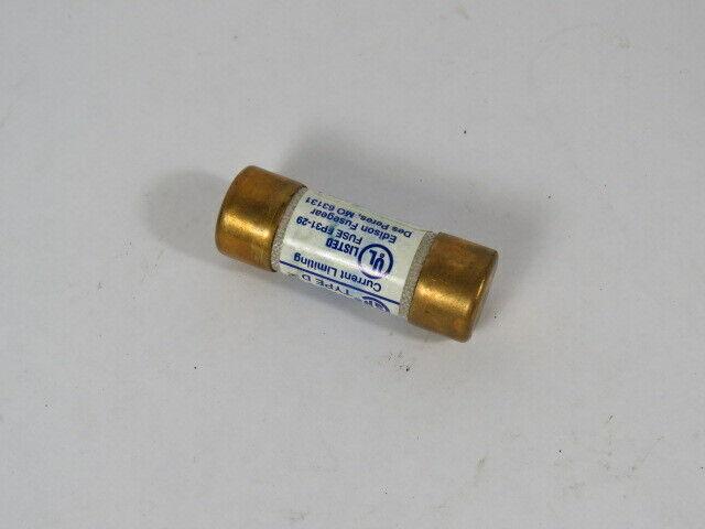 Edison JDL15 Time Delay Fuse 15A 600V  USED