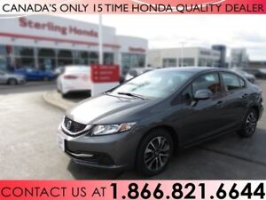2013 Honda Civic Sdn EX | 1 OWNER | NO ACCIDENTS