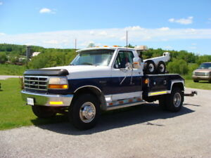 TOW TRUCK  1996 Ford F-450 TOW TRUCK  IN REAL SUPER SHAPE