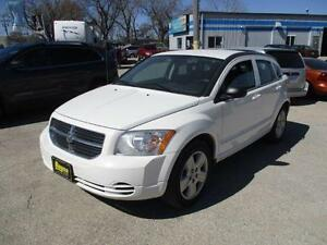 2009 DODGE CALIBER SXT, HAS SAFETY AND WARRANTY $5,450