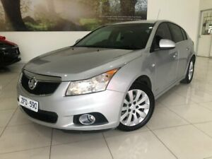 2012 Holden Cruze JH Series II MY12 CD Silver 6 Speed Sports Automatic Hatchback Hoppers Crossing Wyndham Area Preview