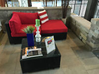 The Roma Patio Furniture Sectional Sofa Reduce Size- Last One
