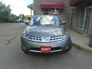 2007 Nissan Murano SL W/ Clean Carproof, Back up camera and more