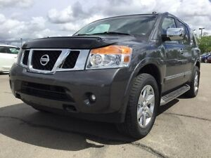 2012 Nissan Armada PLATINUM 4X4 Accident Free,  Navigation (GPS)