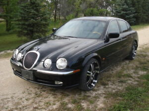 2001 Jaguar S-Type with a fresh safety and clean title