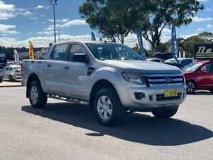 2011 Ford Ranger PX XL Double Cab Silver 6 Speed Manual Utility Goulburn Goulburn City Preview