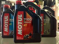 MOTUL 7100 100% SYNTHETIC ESTER MOTORCYCLE OIL ON SALE NOW