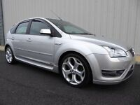 Ford Focus ST-2, 5 Door Edition in Metallic Silver, with Fantastic Detailed Service History, New MOT