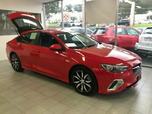 2017 Holden Commodore ZB MY18 RS Liftback Red 9 Speed Sports Automatic Liftback Lilydale Yarra Ranges Preview