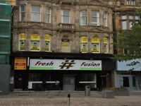 Restaurant bar hot food carry out to let for rent cheap rent High street location available now