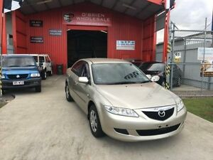 2004 Mazda 6 GG1031 MY04 Classic Gold 4 Speed Automatic Hatchback Clontarf Redcliffe Area Preview